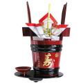 【清酒】司牡丹酒造 豊麗 寿角樽(うるし塗風) 1800ml