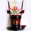 土佐鶴 うるし塗角樽(つのだる) 1800ml