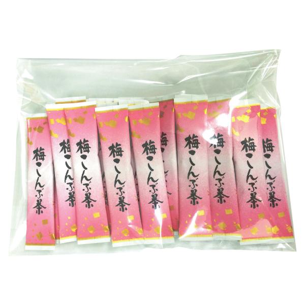 梅こんぶ茶 2g×28本 【A039】 【6】