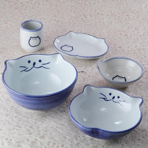【のらや猫食器 わがまま食器5点セット】