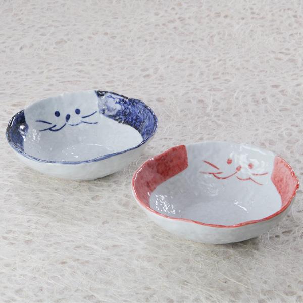 のらや猫食器【サラダ碗】ペア