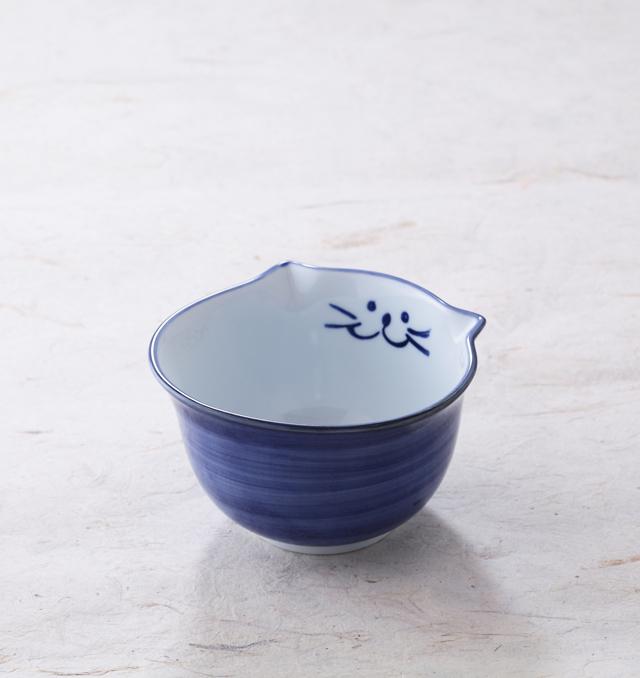 ごはん茶碗 ご飯 茶碗 猫 食器 のらや 美濃焼 磁器