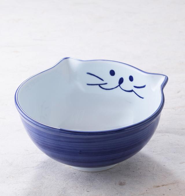 かわいくて使いやすさが女性に人気18cm丼【中丼】ブルー