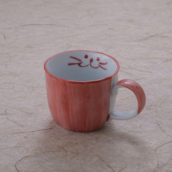 コーヒーカップピンク