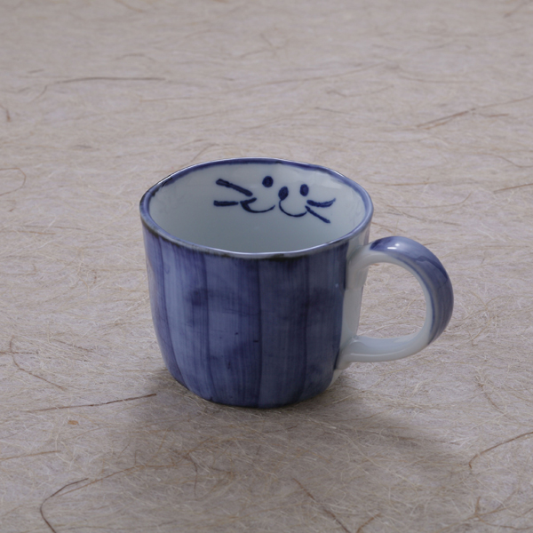 コーヒーカップブルー
