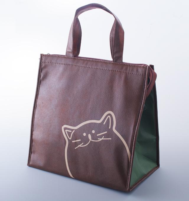 保冷 バッグ のらや 猫 お弁当箱 ランチボックス