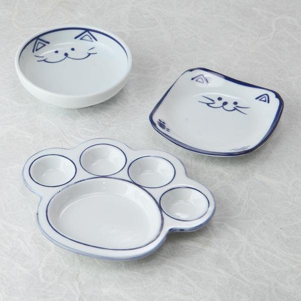 にくきゅう皿,小鉢,小皿,猫食器,ミニ皿,のらや
