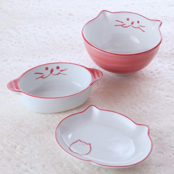猫食器,ひなまつり,のらや,小丼,楕円皿,グラタン
