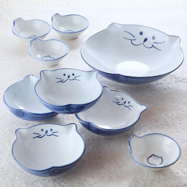 大鉢,とんすい,浅鉢,猫食器,のらや
