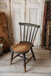 アンティーク 木製 キッズチェア イギリス