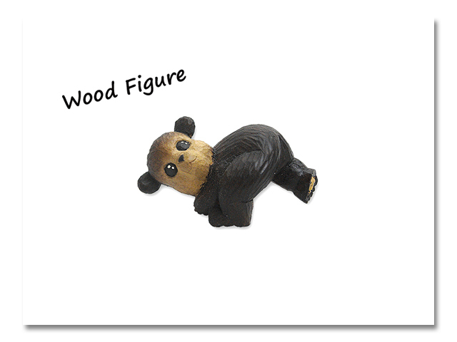 小熊出没 WOOD CRAFT FIGURE 赤