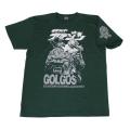 【DM便可】仮面ライダーアマゾン「ゴルゴス」Tシャツ(グリーン)