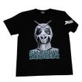 【DM便可】仮面ライダーBLACK「シャドームーンフェイス」Tシャツ(ブラック)