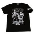 【DM便可】仮面ライダーBLACK「ブラック&シャドームーン」Tシャツ(ブラック)