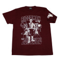 【DM便可】仮面ライダーV3「ライダーマン」Tシャツ(ワイン)