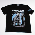 【DM便可】野良猫ロック(AKOバイク)S/STシャツ(ブラック)