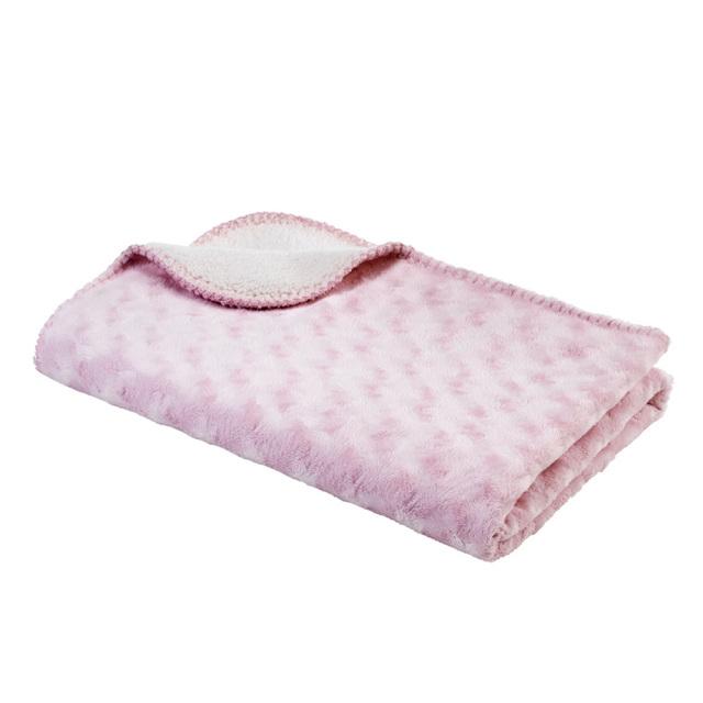 ダブルフリース ピンク