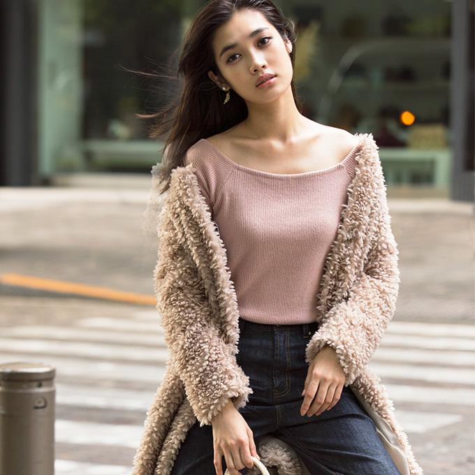 11月22日午前0:00再販【Fake fur coat】レディース  フェイクファー コート