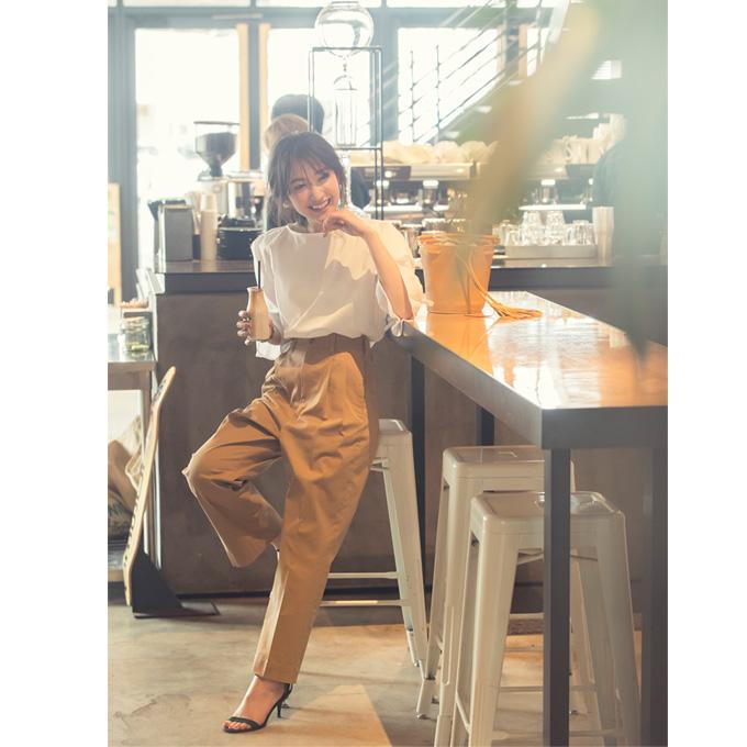 【Maki Collabolation】 Chino pants 金子麻貴さんコラボ  チノパンツ
