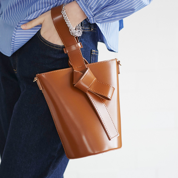 【Bucket bag】レディース  バケツ バッグ