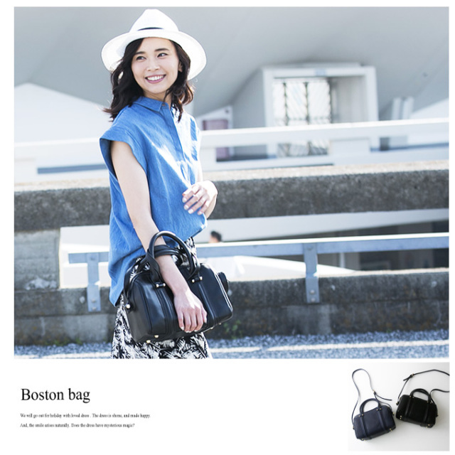 《CLASSY.12月号掲載》《JJ9月号掲載》【Boston bag】レディース ボストン バッグ