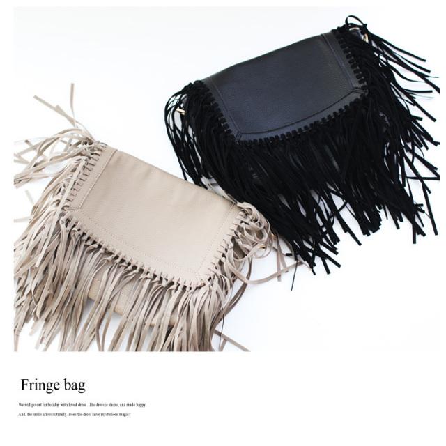 《CLASSY.1月号掲載》【Fringe bag】レディース フリンジ バッグ