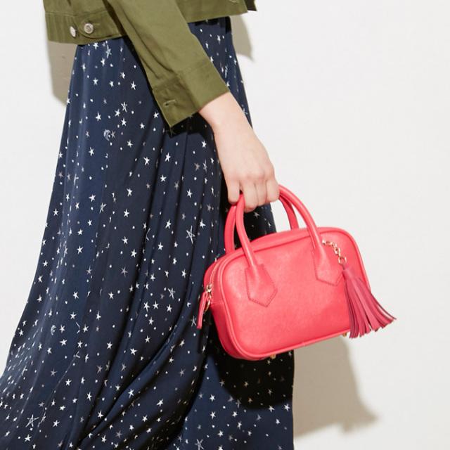 ≪CLASSY.7月号掲載≫【Tassel mini bag】レディース タッセル バッグ