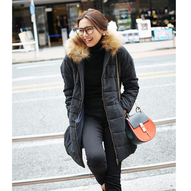 【Reversible inner cotton coat】レディース リバーシブル コート