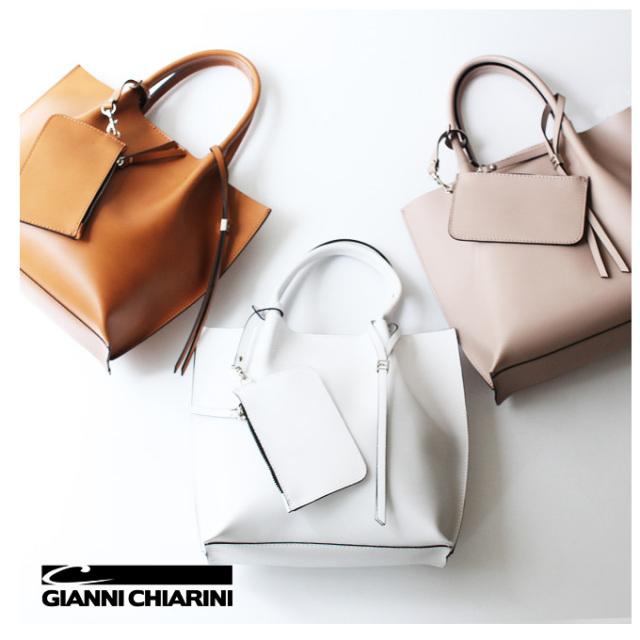 GIANNI CHIARINI leather bag 牛革 バッグ イタリア