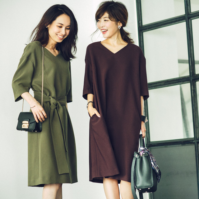11月18日午前0:00再販!Noriko&Michiko Autumn Collabolation【Over size one piece】