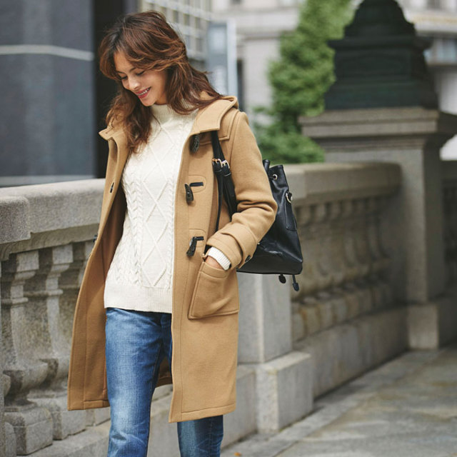&.NOSTALGIA Luxe line【Duffle coat】レディース  ダッフルコート