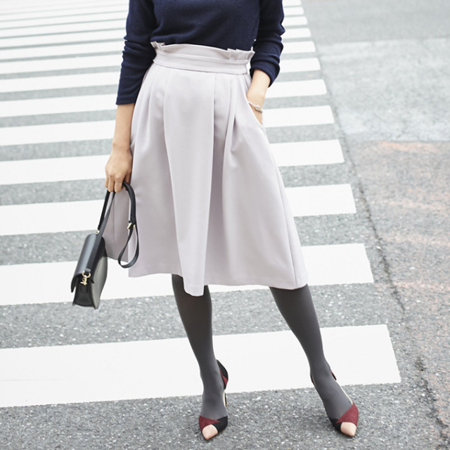 《Marisol 2月号掲載》【Waist design skirt】レディース  ウエスト スカート