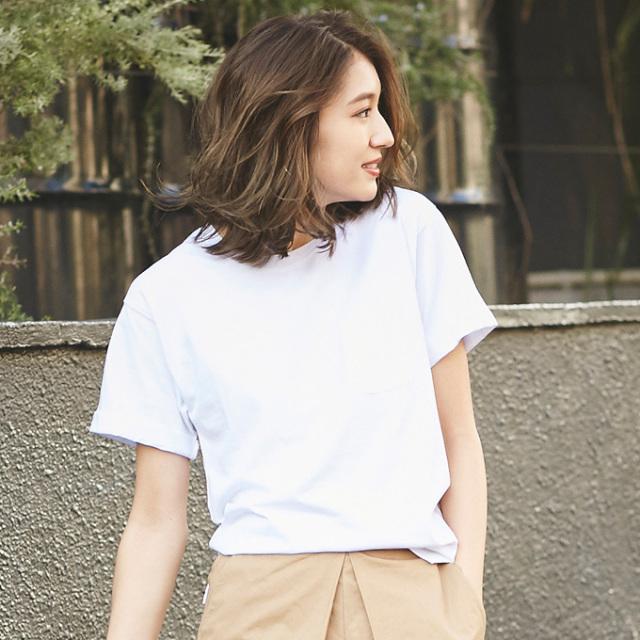 【Organic cotton T shirt】レディース  オーガニックコットン Tシャツ