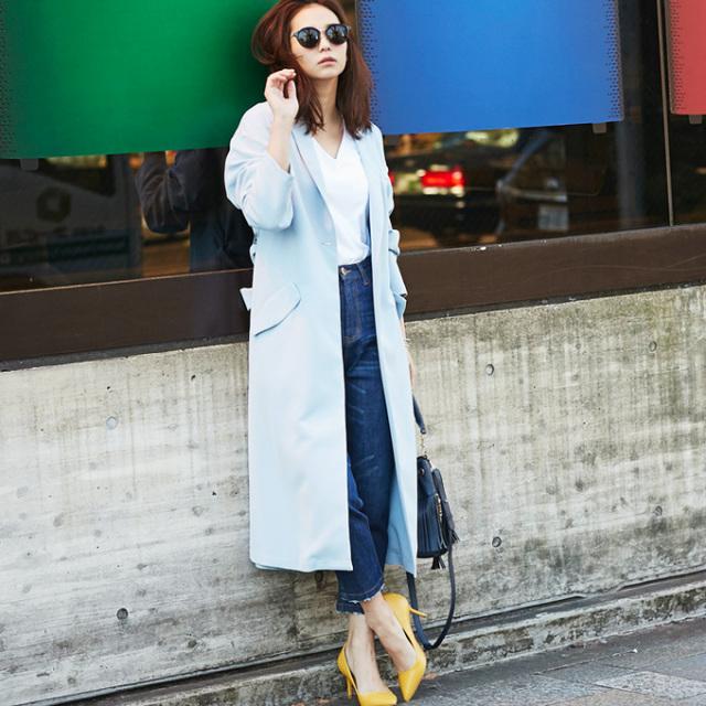 【Spring long coat】レディース  ロング コート