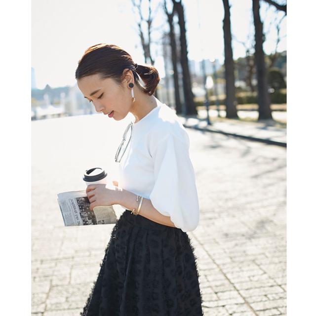 4月12日午前0:00再販【Volume sleeve blouse】レディース  ボリューム袖 ブラウス