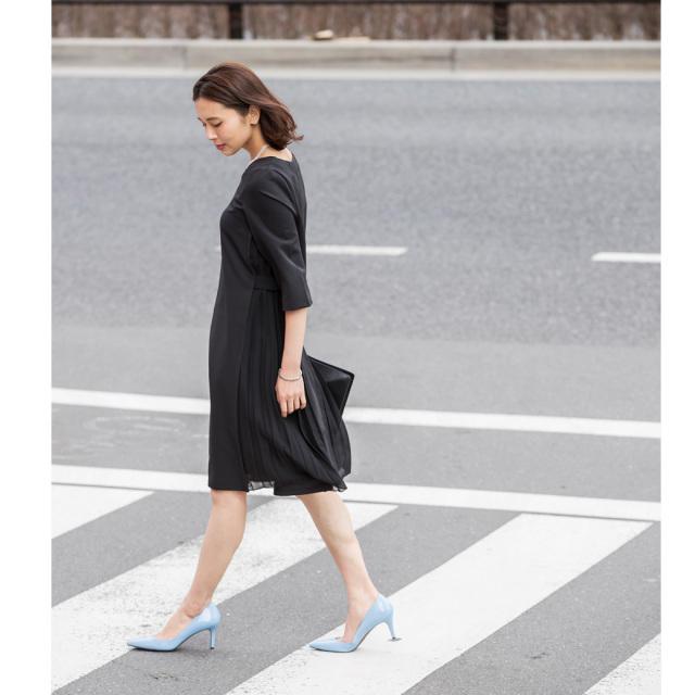 4月11日午前0:00再販【Side pleats occasion onepiece】レディース  オケージョン ワンピース