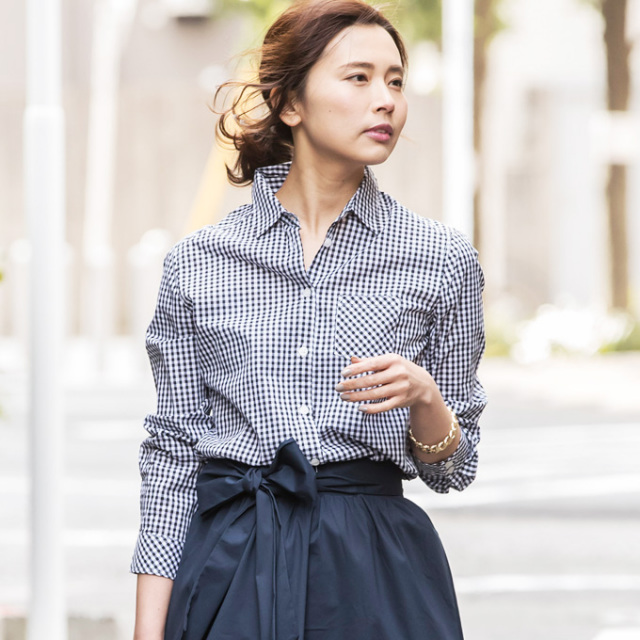 【Simple blouse】レディース  シンプル ブラウス