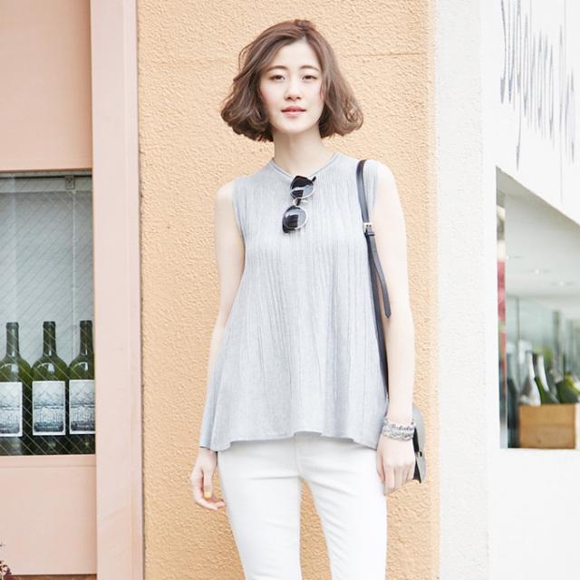 【Summer flare knit】レディース  サマー フレア ニット