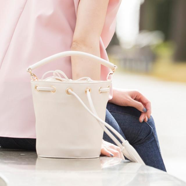【Maki Collabolation】 Bucket bag 金子麻貴さんコラボ  バケツ バッグ