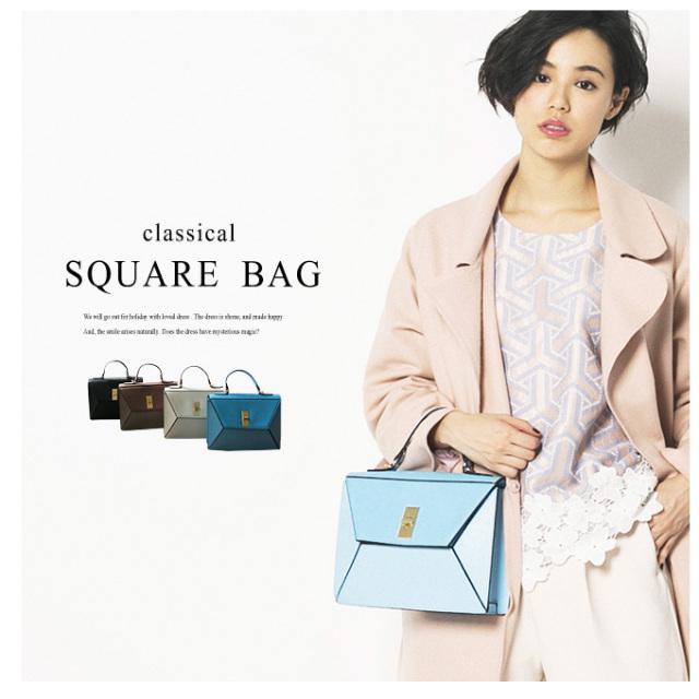 【Square Bag】レディース バッグ
