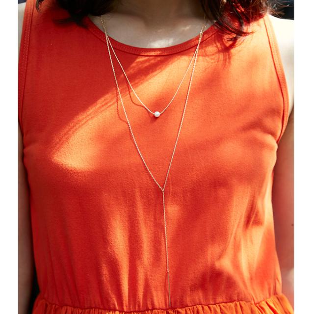 6月24日午前0:00再販【Chain necklace】レディース ネックレス