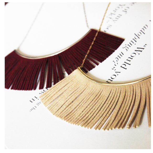 【Fringe necklace】レディース ネックレス