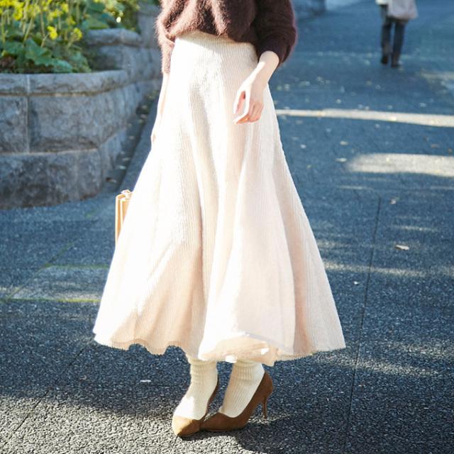 【Circular long skirt】レディース フレア スカート