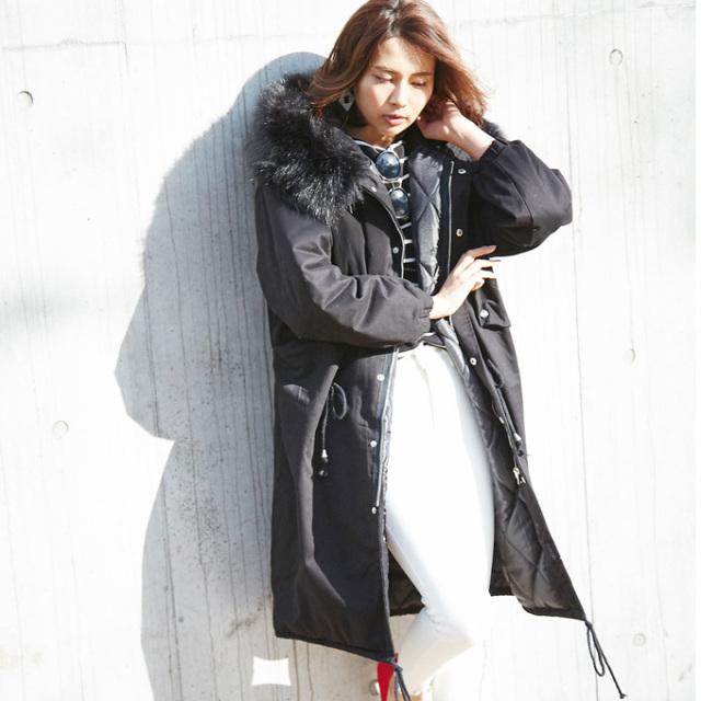 【Mods coat】レディース モッズ コート