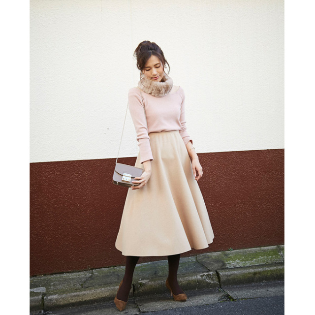 【Circular flare skirt】レディース  フレア スカート