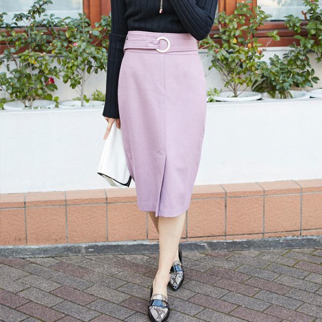【Wool tight skirt】レディース タイト スカート