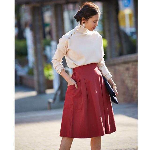 【Cotton flare skirt】レディース フレア スカート
