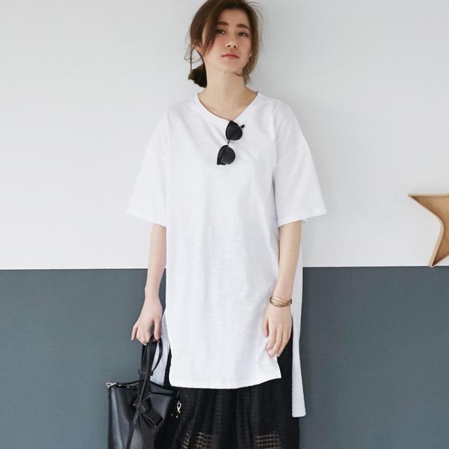 【T shirt one piece】レディース Tシャツ ワンピース