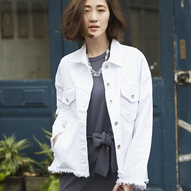【Cotton jacket】レディース コットン ジャケット