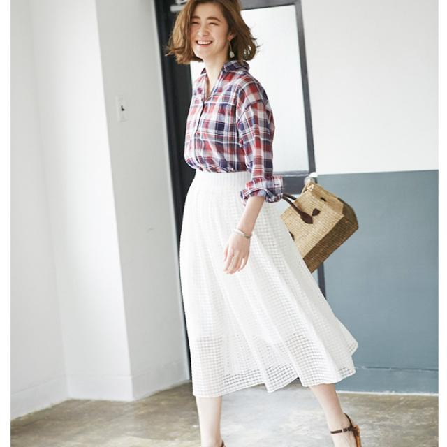 【Lace skirt】レディース  レース スカート